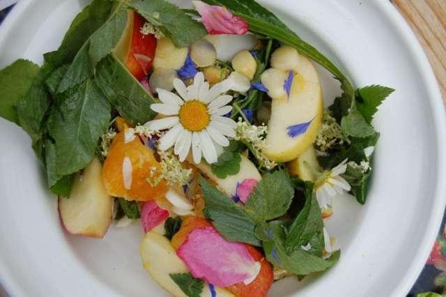 Bunter Obst Gemüse Mix