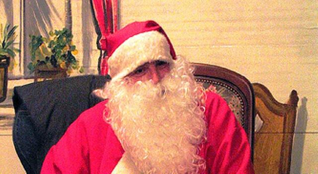 Buche den Weihnachtsmann