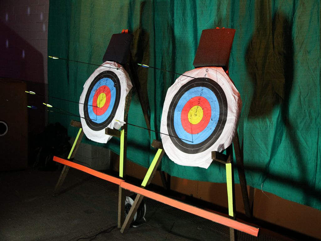 Zielscheiben Bogenschießen